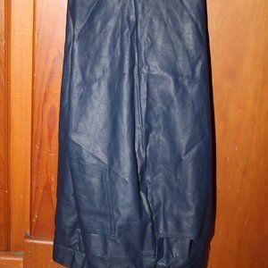 Diane Gilman Ladies Pleather Jeans Size 8 look new